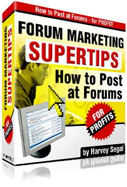 Forum Marketing SuperTips