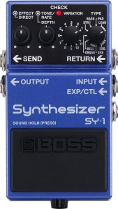 Boss SY-1 Synthesiser Pedal